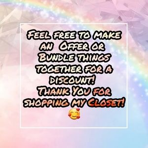 Other - Thanks You For Shopping My Closet!! 🥰